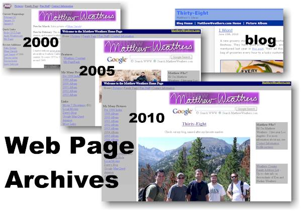 Web Archives